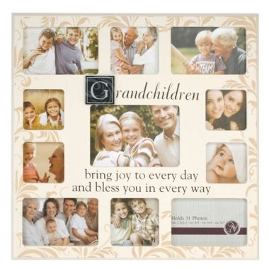 Large Grandchildren Photo Collage Frame The Gift Experience Framed Photo Collage Photo Collage Family Photo Frames