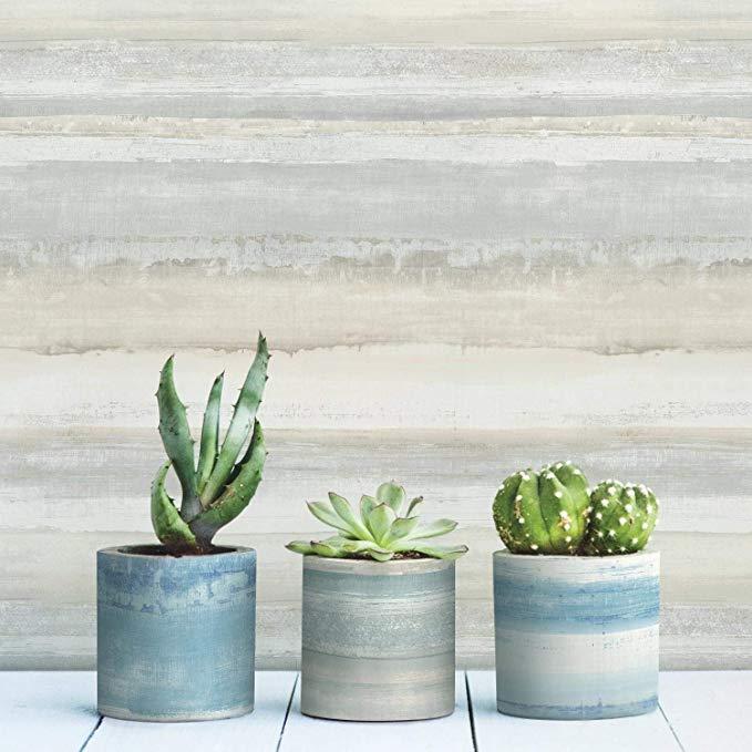 Roommates Watercolor Stripe Peel And Stick Wallpaper Amazon Com Peel And Stick Wallpaper Peelable Wallpaper Wallpaper Roll