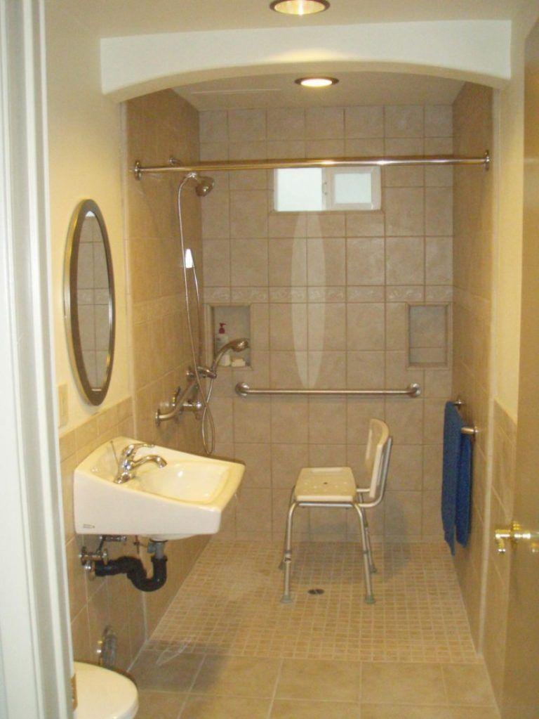 Handicap Accessible Bathroom Design Inspiring Exemplary Accessible