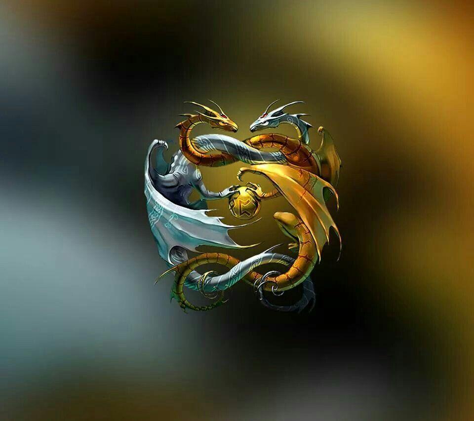Song of ice and fire .   Fantasy dragon, Dragon art, Ying yang