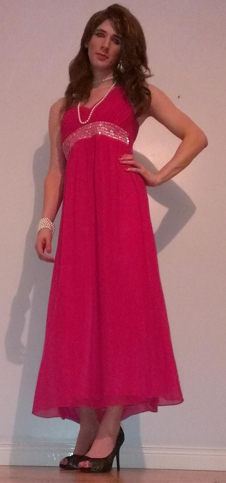 Pink Maxi Dress  5651304b71