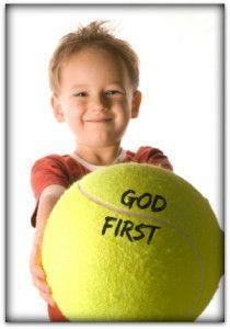 Keeping God First Object Lesson (Matthew 22:37) | Children church
