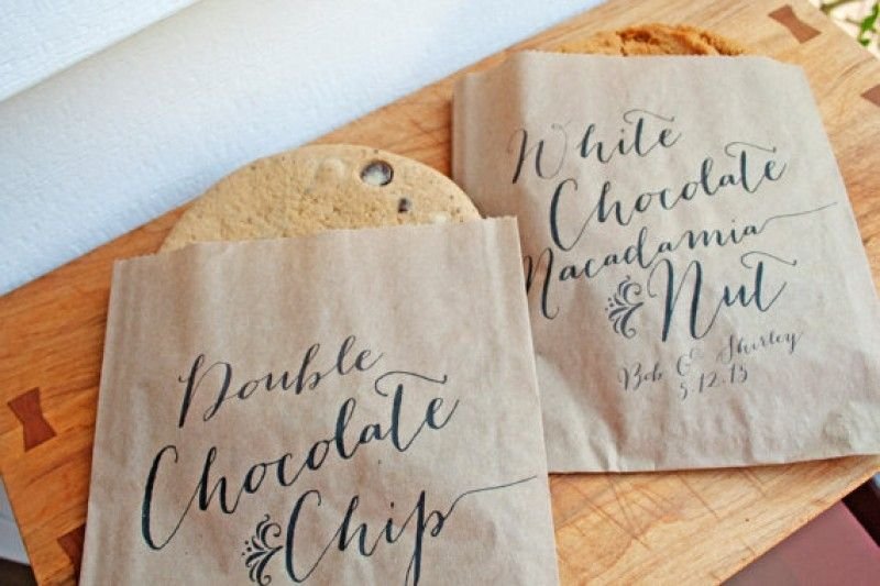 Giant Cookie Favor Bags