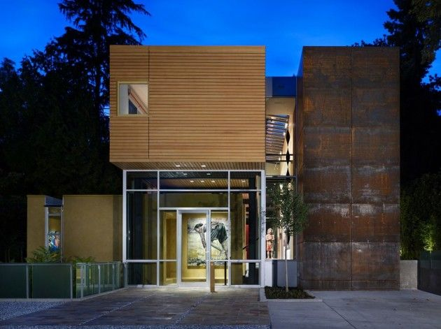 SEATTLE: The Mad Park Residence by Vandeventer + Carlander Architects 9/25/2011 via @Contemporist .com