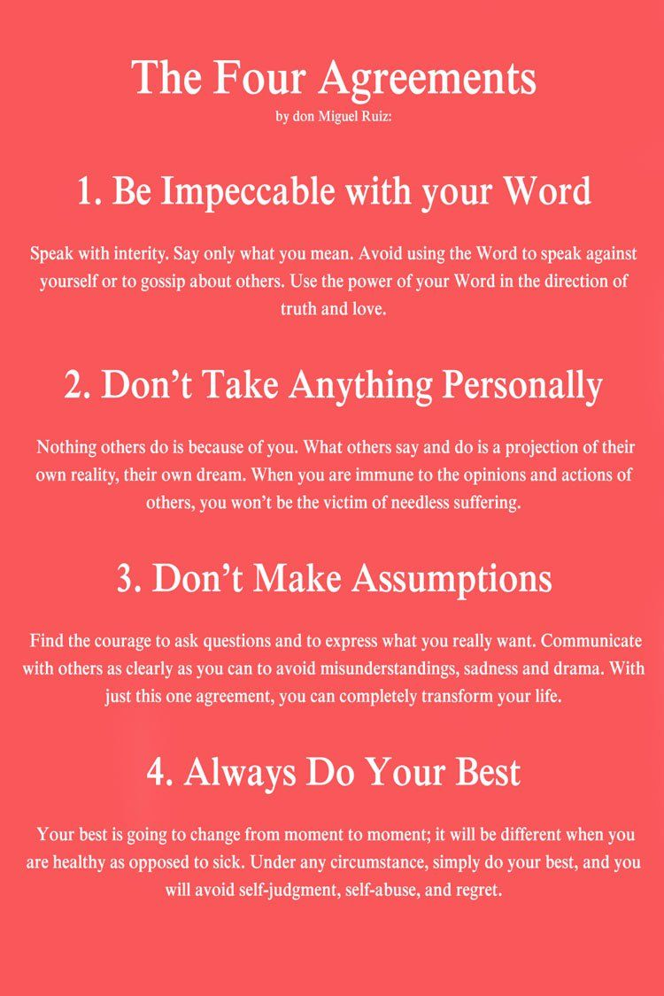 Quotes From The Four Agreements Quotesgram By Quotesgram Words