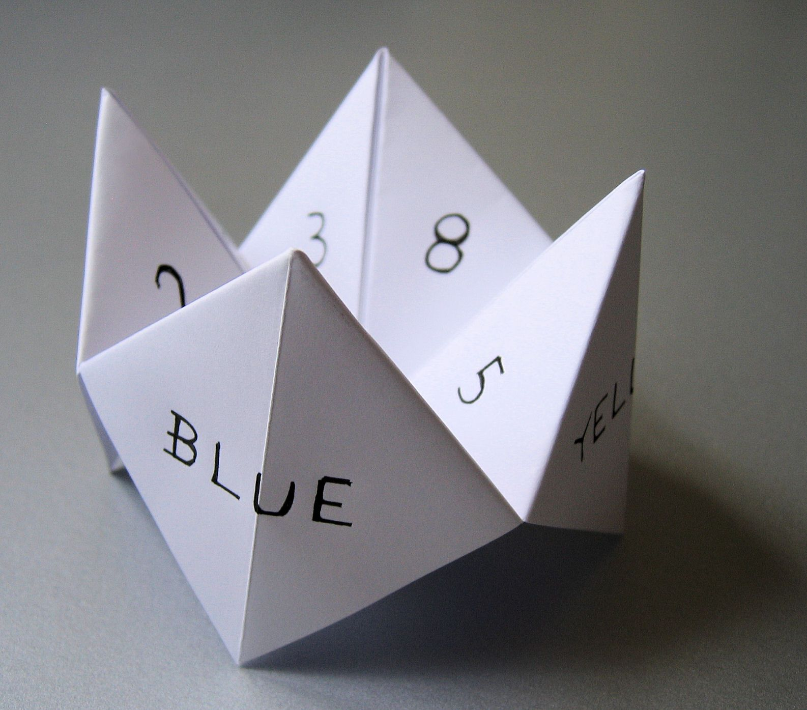 Things i remember from my childhood paper fortune teller paper fortune teller loved making these jeuxipadfo Images