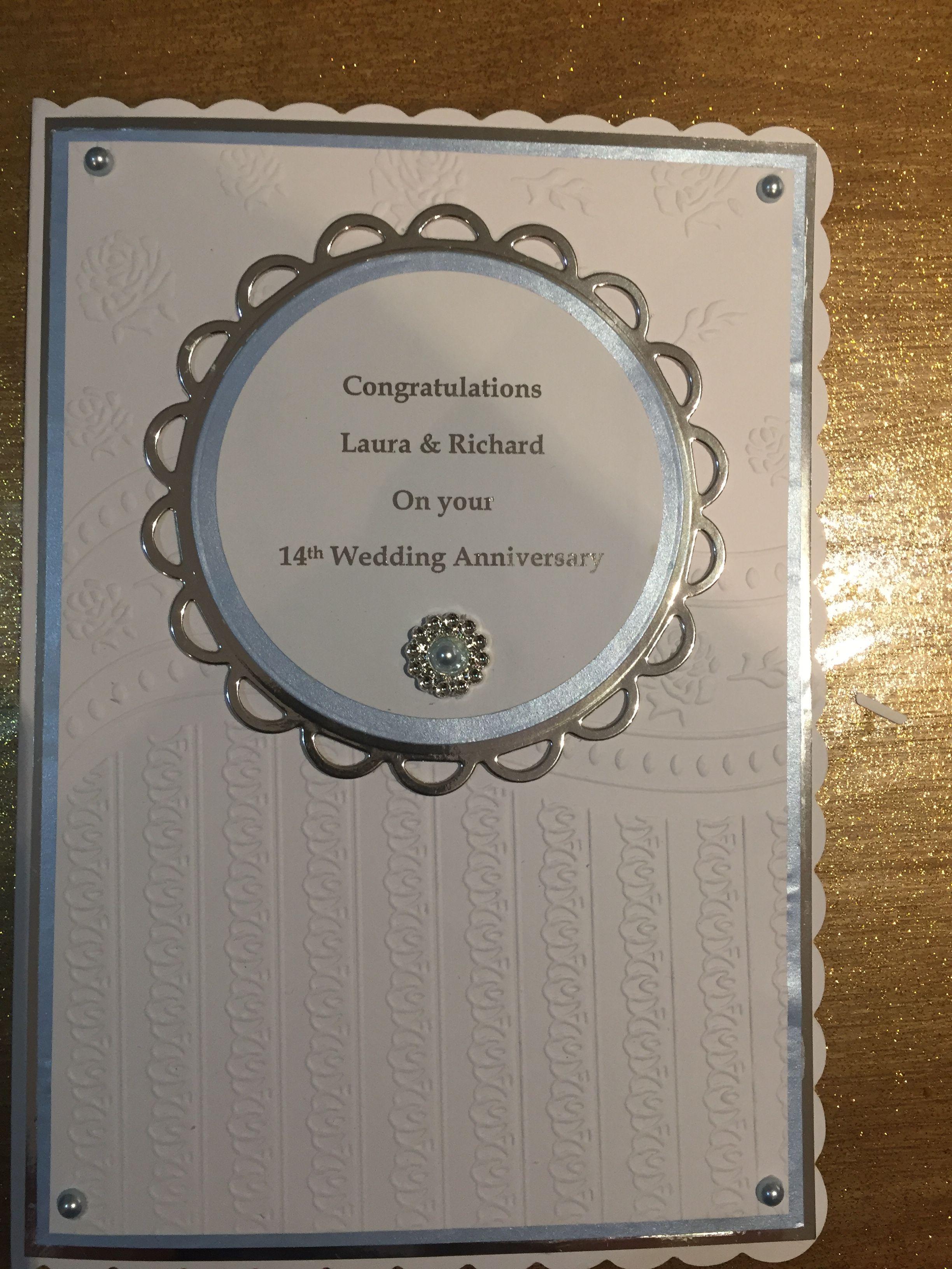 Anniversary 14th wedding anniversary, Wedding