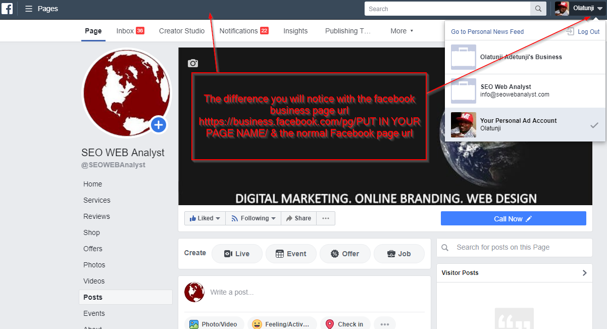 How To Remove An Admin From Your Facebook Business Page Online Marketing Tools Facebook Business Business Pages