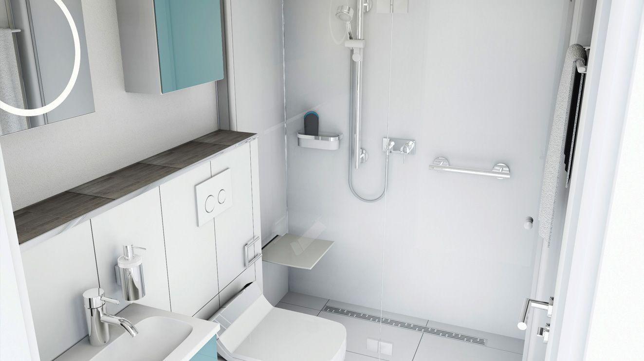 Kleine Badezimmer Ganz Gross Kleines Bad Dekorieren Bad Einrichten Kleines Bad Einrichten