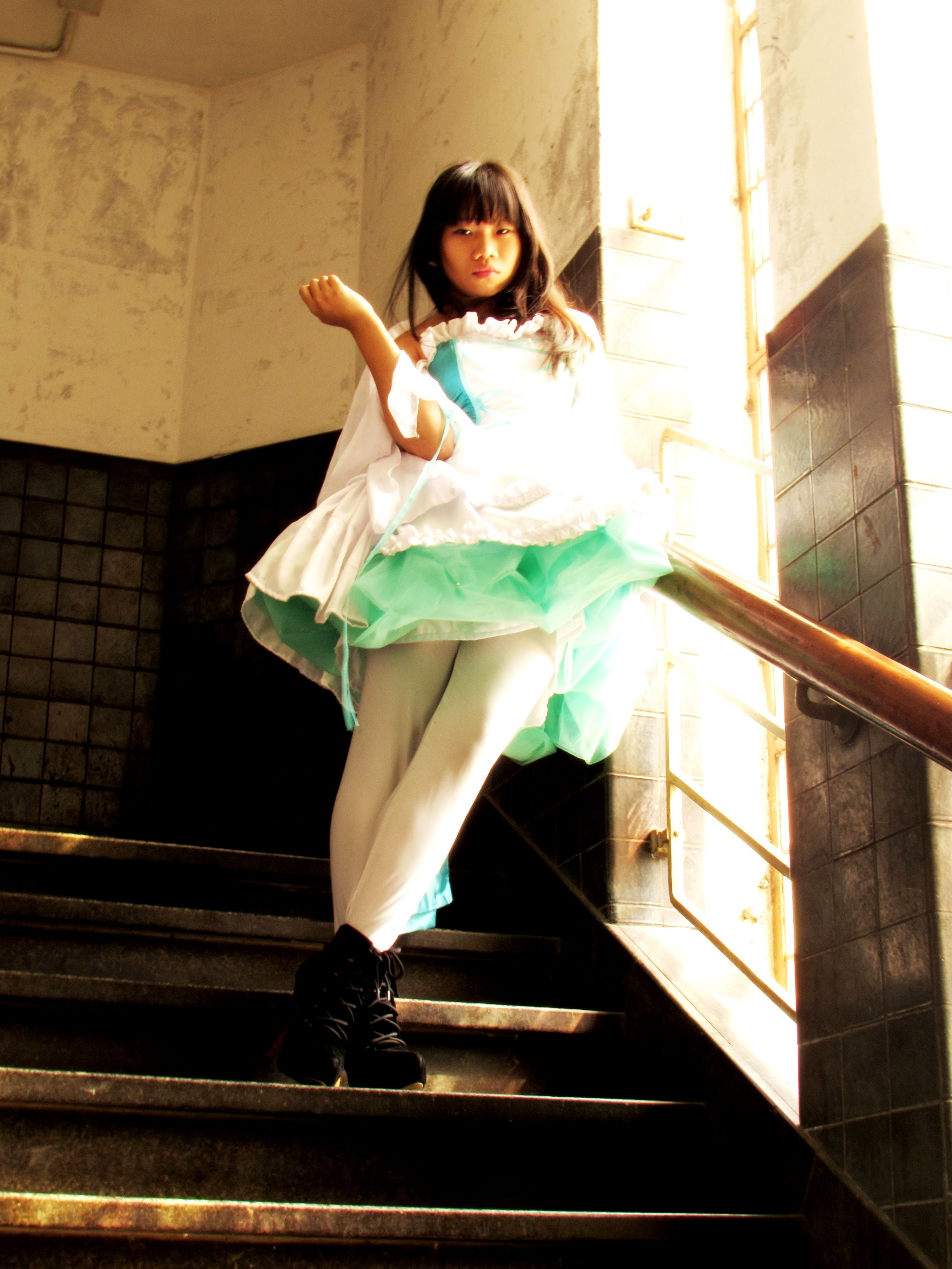 cosplay, wedding dress, fashion, old town, jakarta