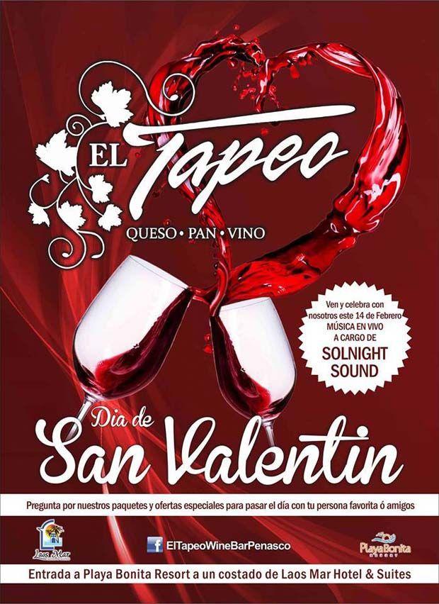 Viernes 14 de Febrero: Festeja San Valentín en Tapeo Wine Bar con Música en Vivo
