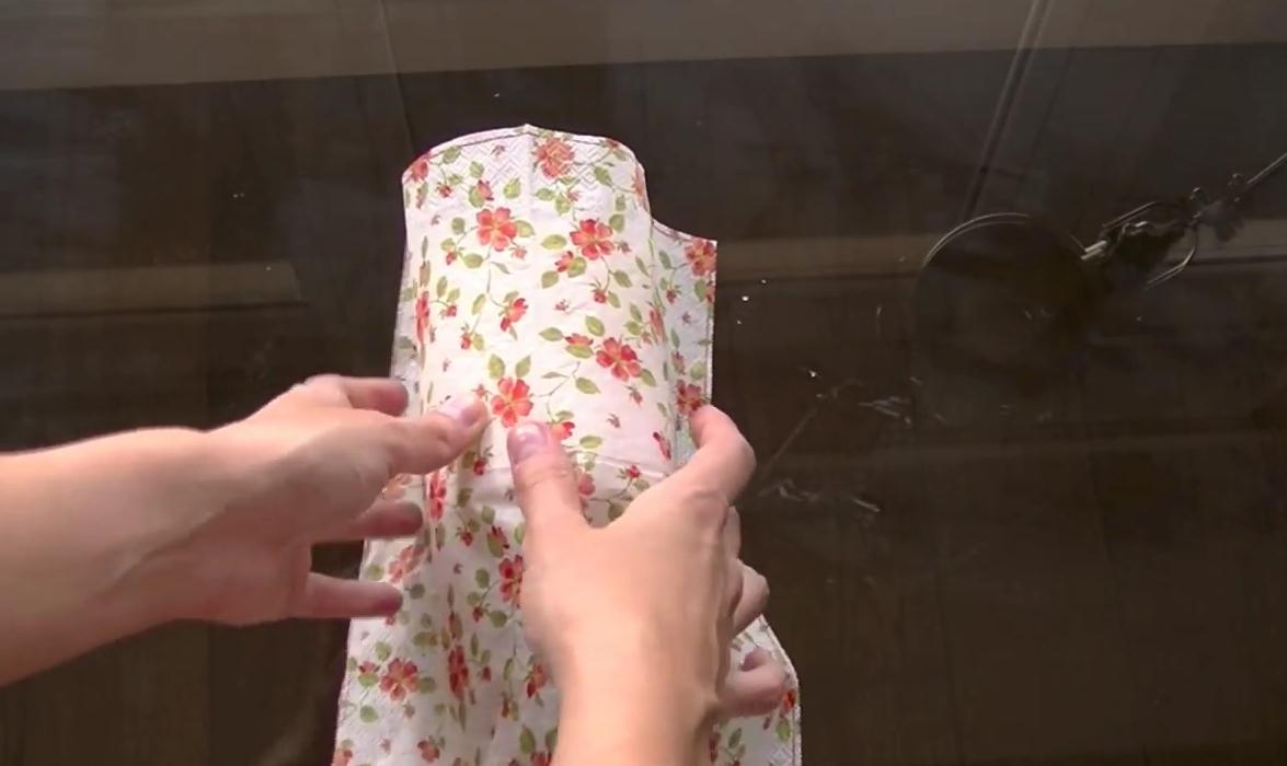 Como Decorar Velas Con Servilletas Crafty - Decorar-velas-con-servilletas