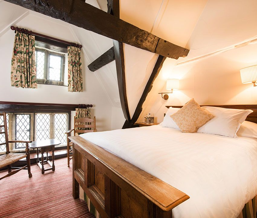 Ramblers Room Lygon Arms Hotel Broadway Cotswolds Worcestershire England