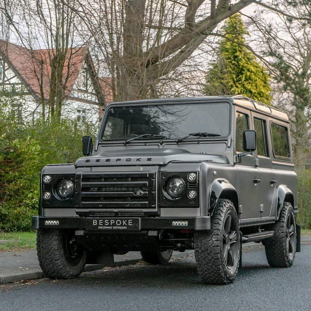 Bespokecarsuk Defender In Matte Corris Grey Follow Us Dailyoverland Landrover Land Rover Land Rover Defender Land Rover Defender Expedition