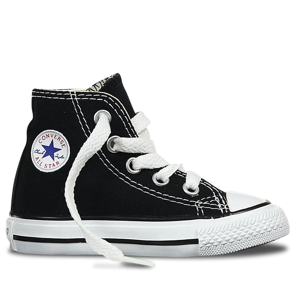 d72982deb96d Converse Kids Chuck Taylor Black High Top Toddler Shoes Tiny Style Australia
