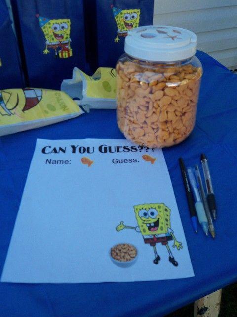 Spongebob Beach Theme Birthday Party Ideas Beach Theme Birthday
