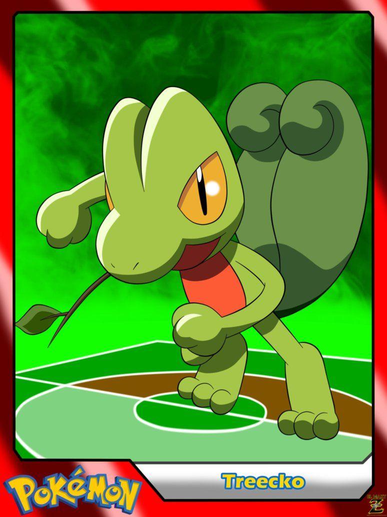 Pokemon treecko by elmakyzviantart on deviantart