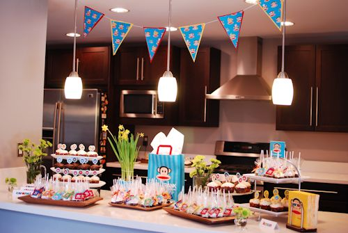 We LOVE This Paul Frank Themed Baby Shower!