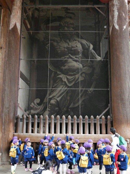 Kongo Rikishi at Todai-ji in Nara.