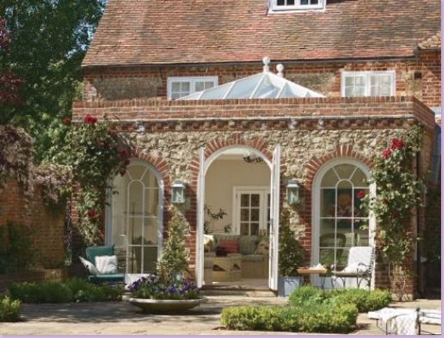 Amdega Conservatory Greenhouse Attached To House Sunroom Kits Orangery