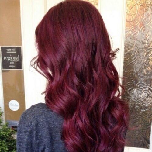 Photo of 50 ideas de color de cabello de cereza negra, #Negro #Cereza #Color #Pelo #ideas #maroonbraidshairstyles