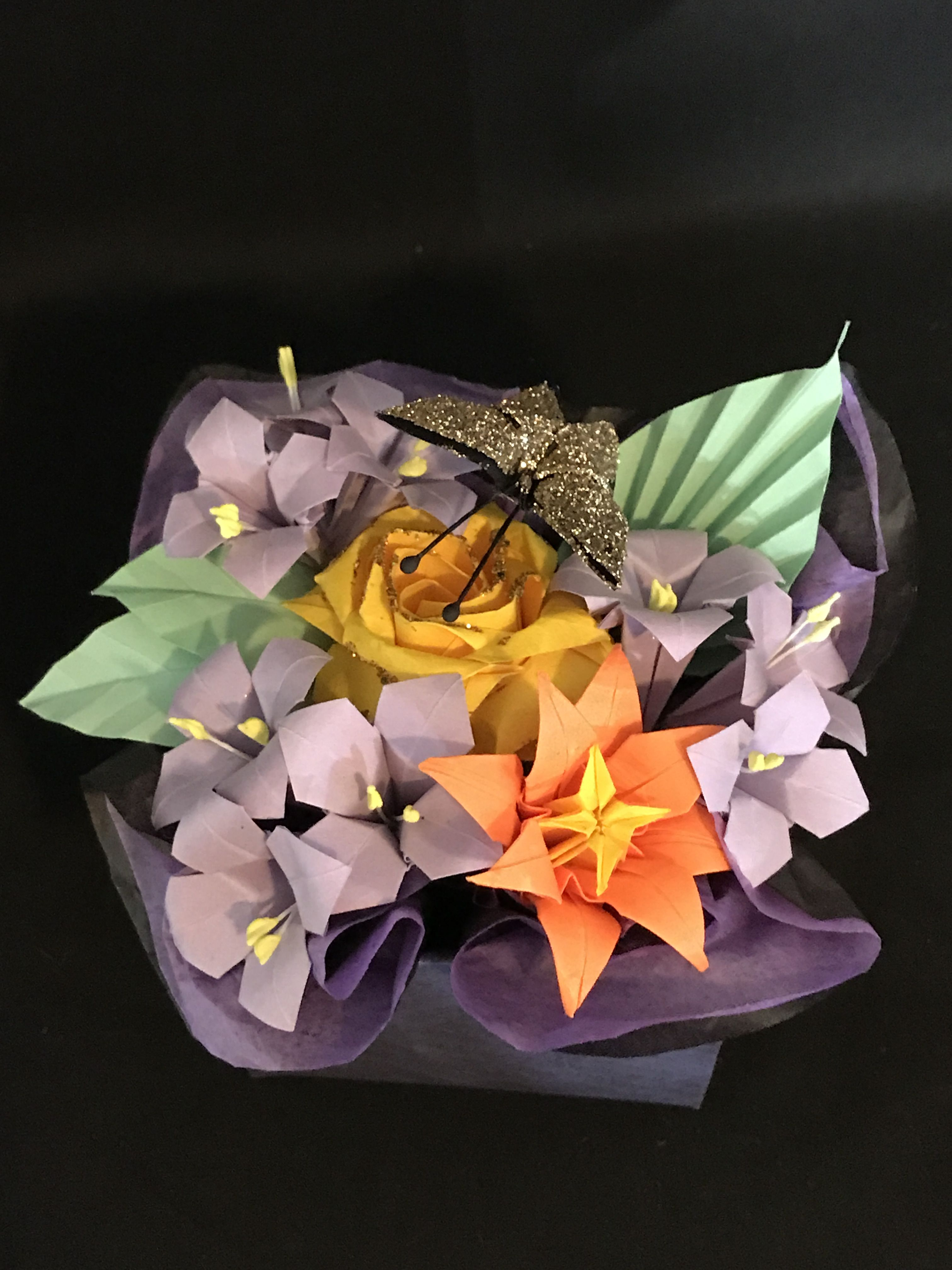 Pin By Misakoplant On Origami Flower Bouquet Pinterest Origami