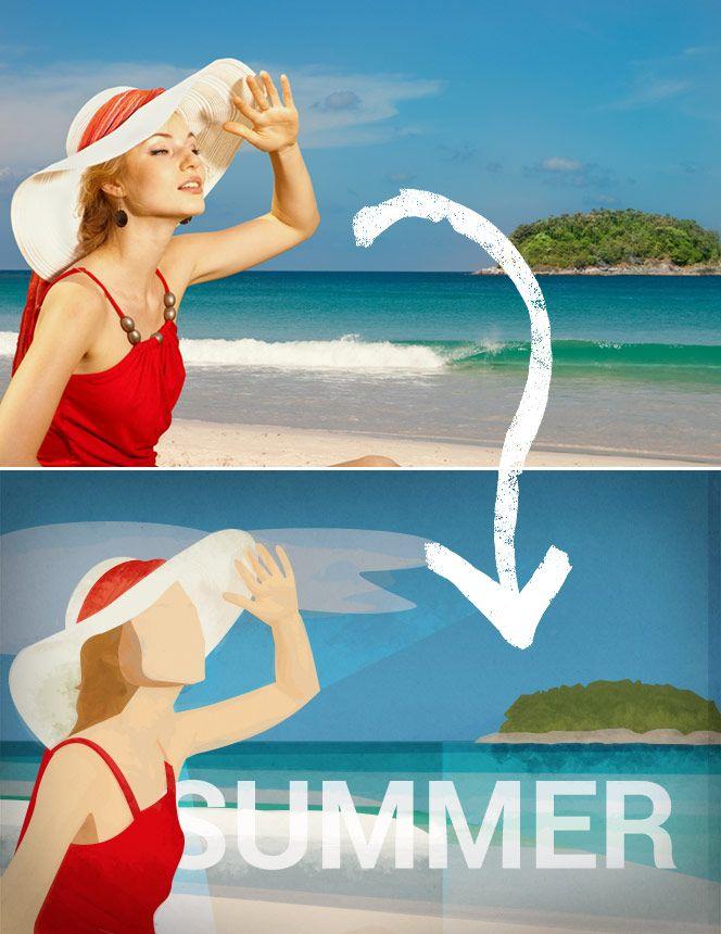 Photoshop-Tutorial: Plakate im angesagten Kubismus-Stil | Photoshop-Weblog – Alles zum Thema Bildbearbeitung