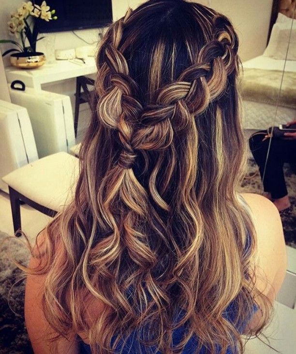 66 Best Cute Homecoming Hair In 2020 Homecoming | Hair In 2019 | Prom Hairstyles For Long Hai...