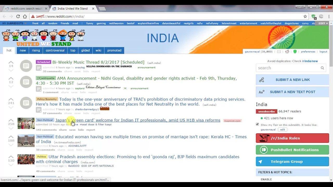 Reddit hindi How to increase or gain karma on Reddit