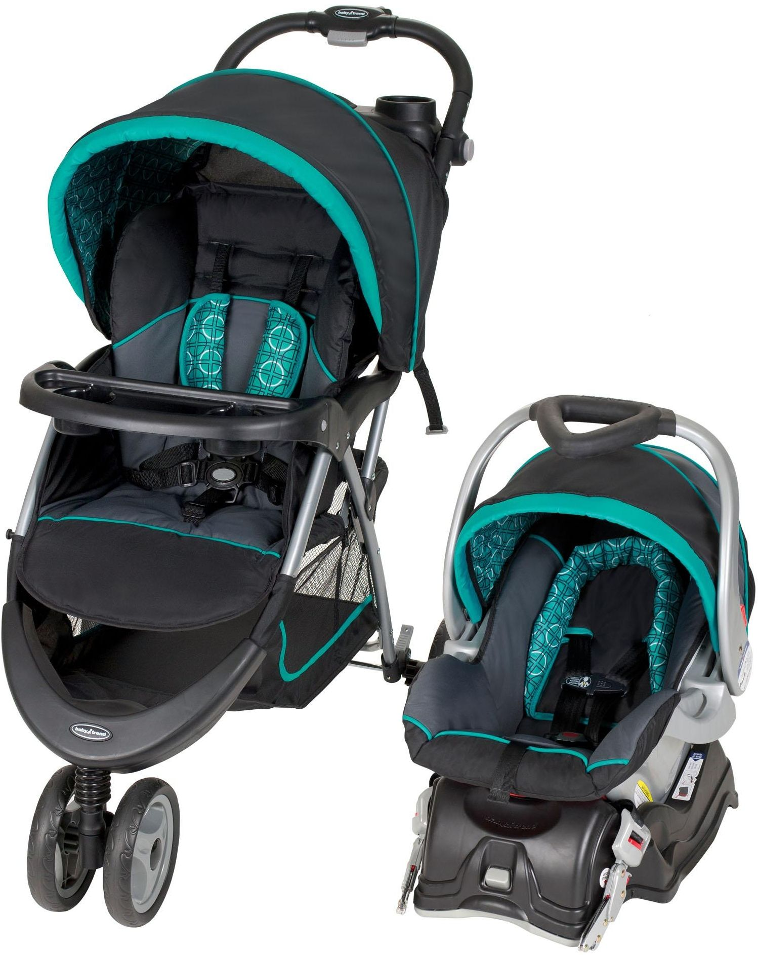 Car Seat Baby Stroller Jogger Combo Baby Tren