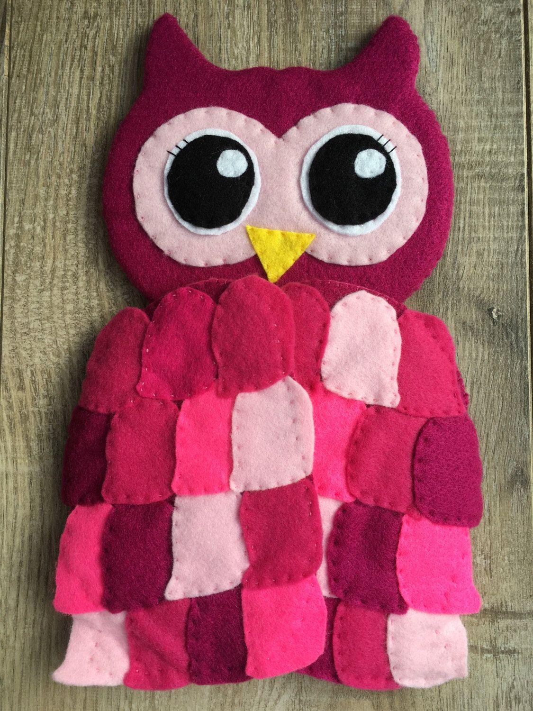 Children\'s owl mirror, pink owl bedroom decor, children\'s bedroom ...