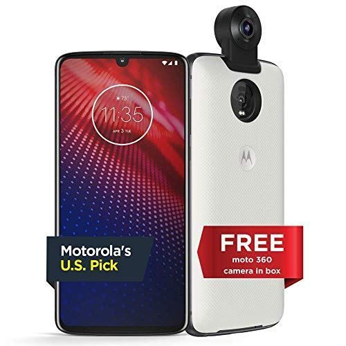 Moto Z4 Unlocked 128 GB Flash Gray (US Warranty