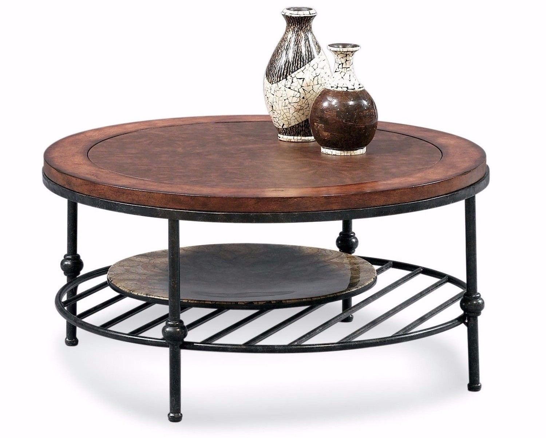 round minimalist coffee table