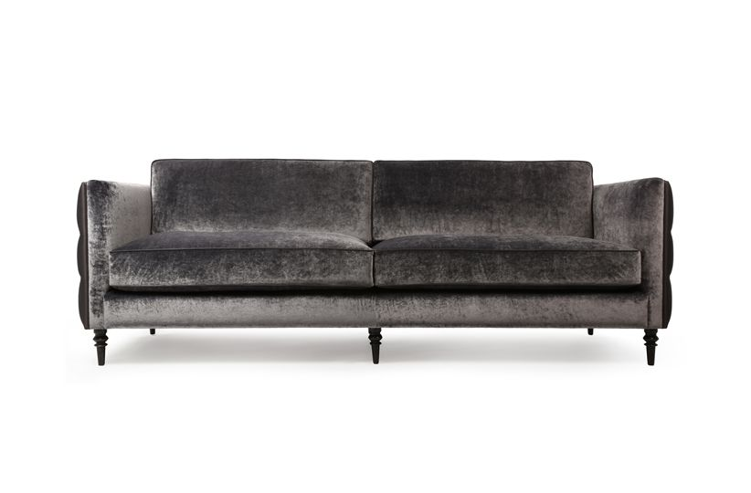 the winston luxurious contemporary sofa sports deep buttoning rh pinterest com