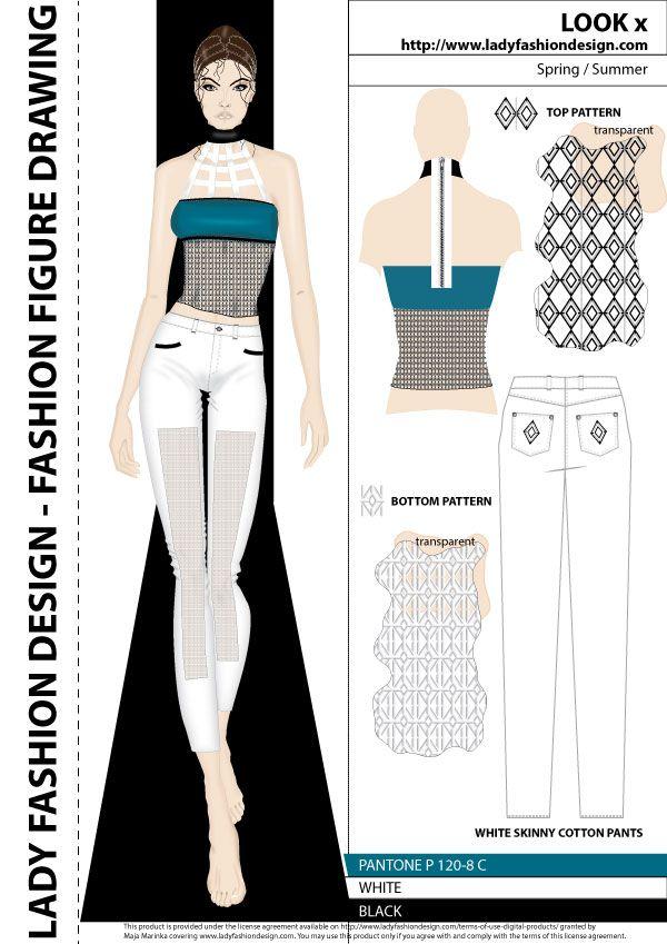 Drawing And Sketching Fashion Garment And Collection Fashion Portfolio Sample Cizimler Cizim