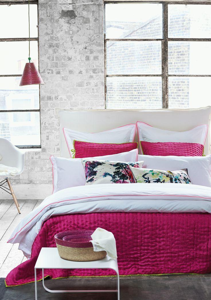 Astor Peony u0026 Pink Bedding Set design