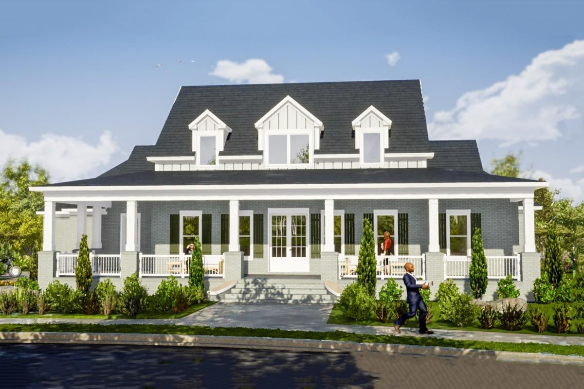 Plan 86325hh 5 Bed Country House Plan With Main Floor Master Farmhouse Plans House Plans Farmhouse House Plans