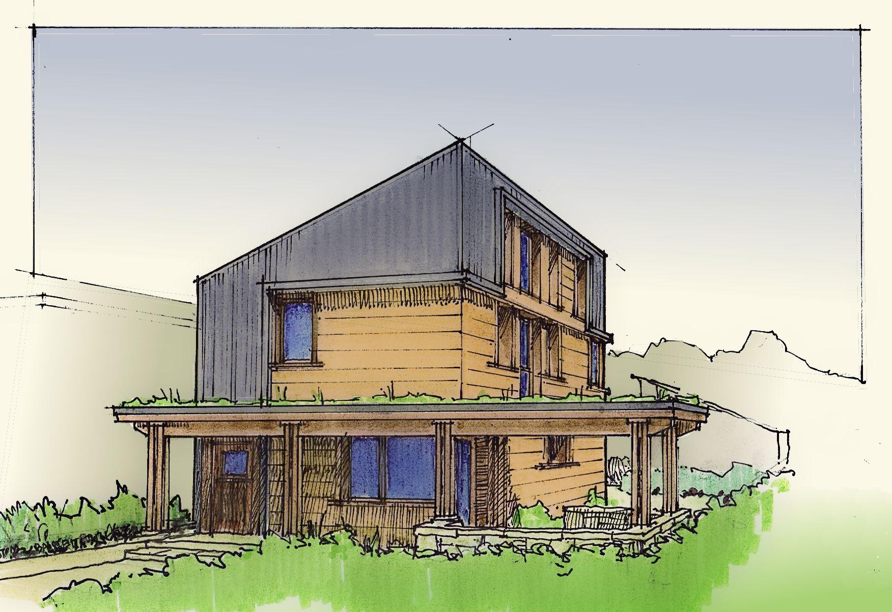 "Tom Bassett-Dilley Architect: ""Urban Homestead"" passive house project"
