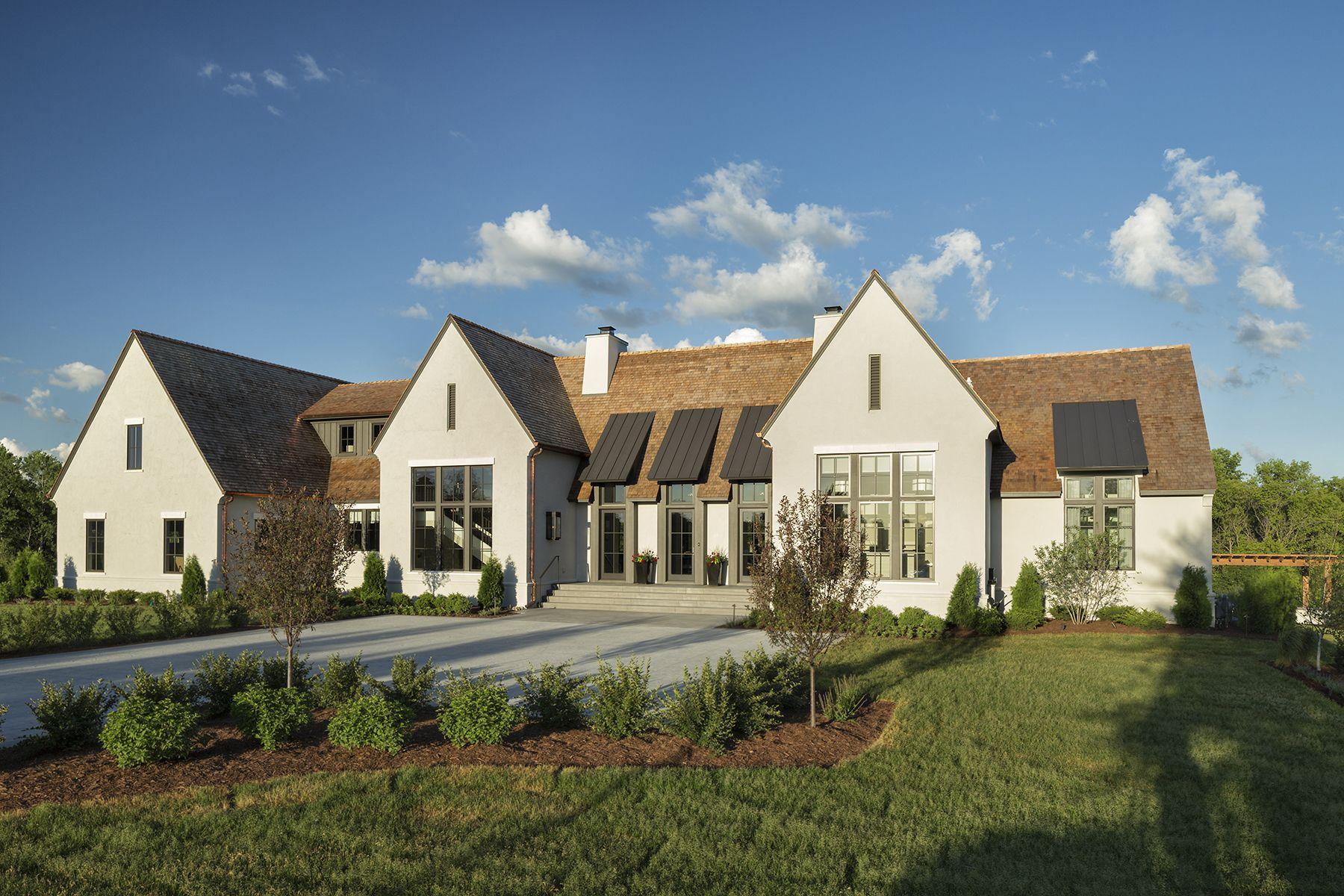 Modern Tudor Artisan Show House Hendel Homes English Tudor
