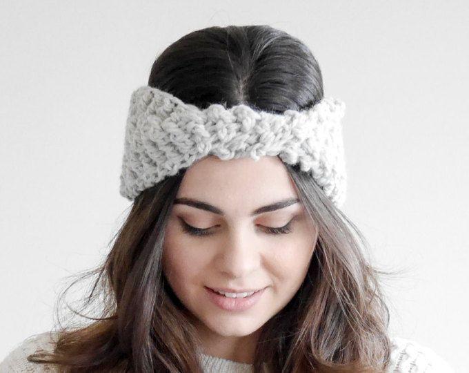 Crochet Ear Warmer Pattern Crochet Turban Headband Pattern Womens