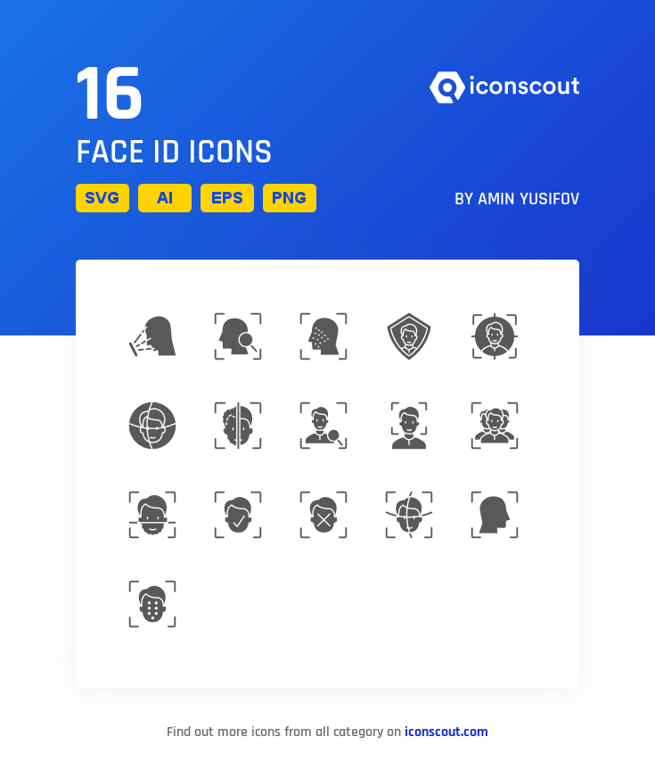 Download Face Id Icon Pack Available In Svg Png Eps Ai Icon Fonts Face Id Icon Pack Icon