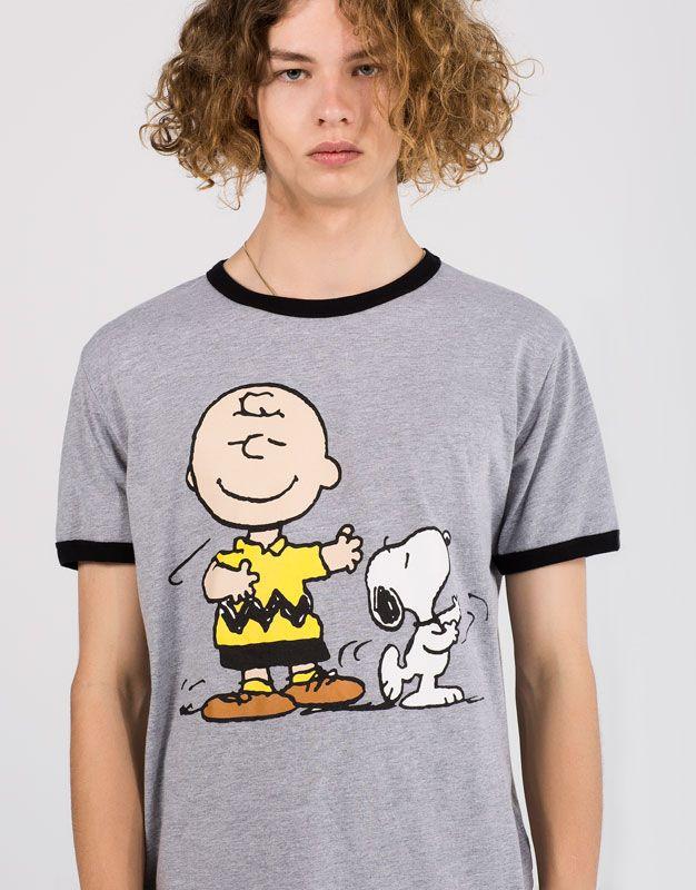 Snoopy T-Shirt Camiseta para Hombre