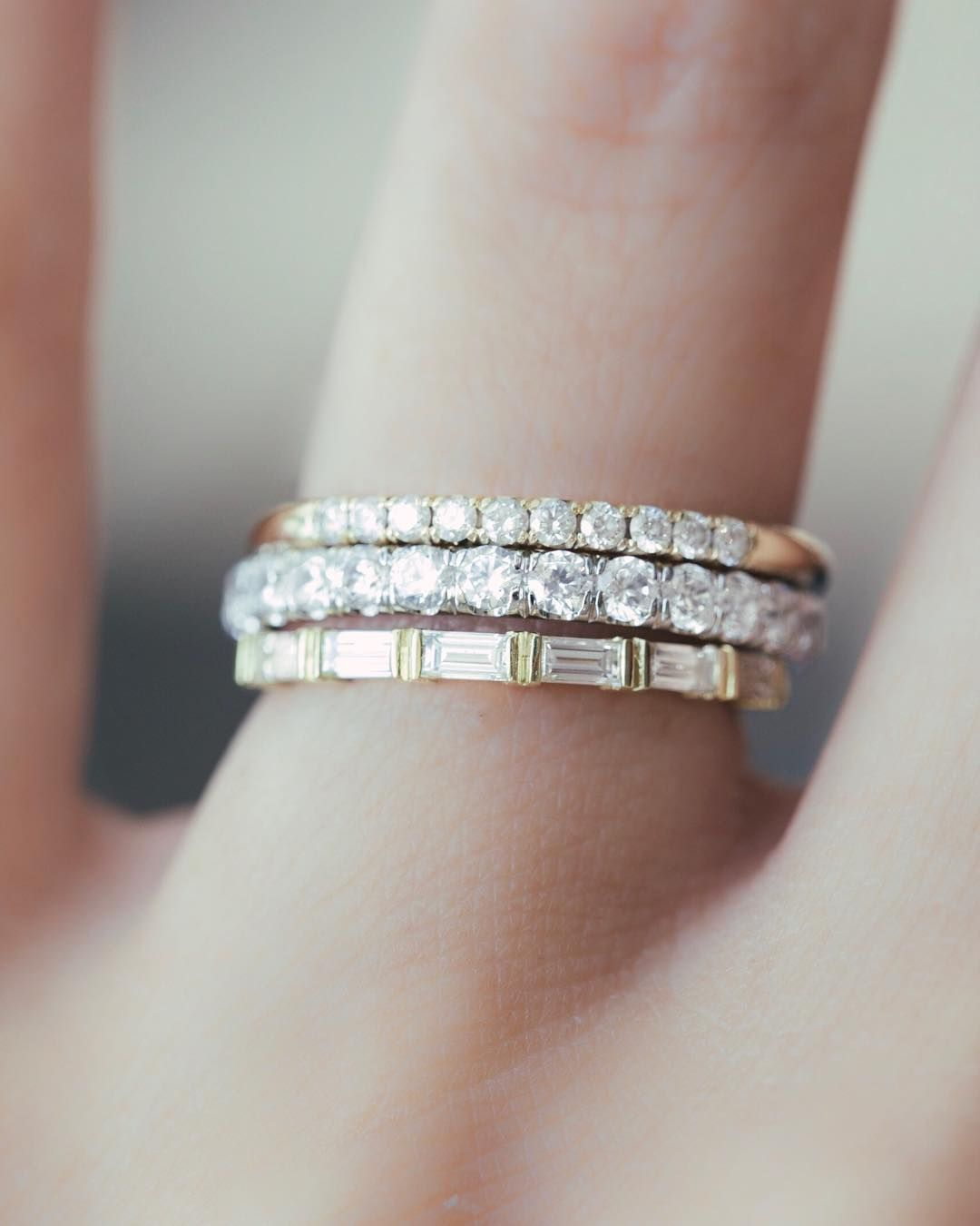 Starry Fingers There Aren T Rules On Who Or How To Wear Diamonds Single Treatyoself Ma Diamond Wedding Bands Wedding Ring Diamond Band Diamond Bands
