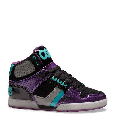 d3cd9e6094 Take a look at this Black & Purple NYC 83 Sneaker by Osiris Shoes on #zulily  today!