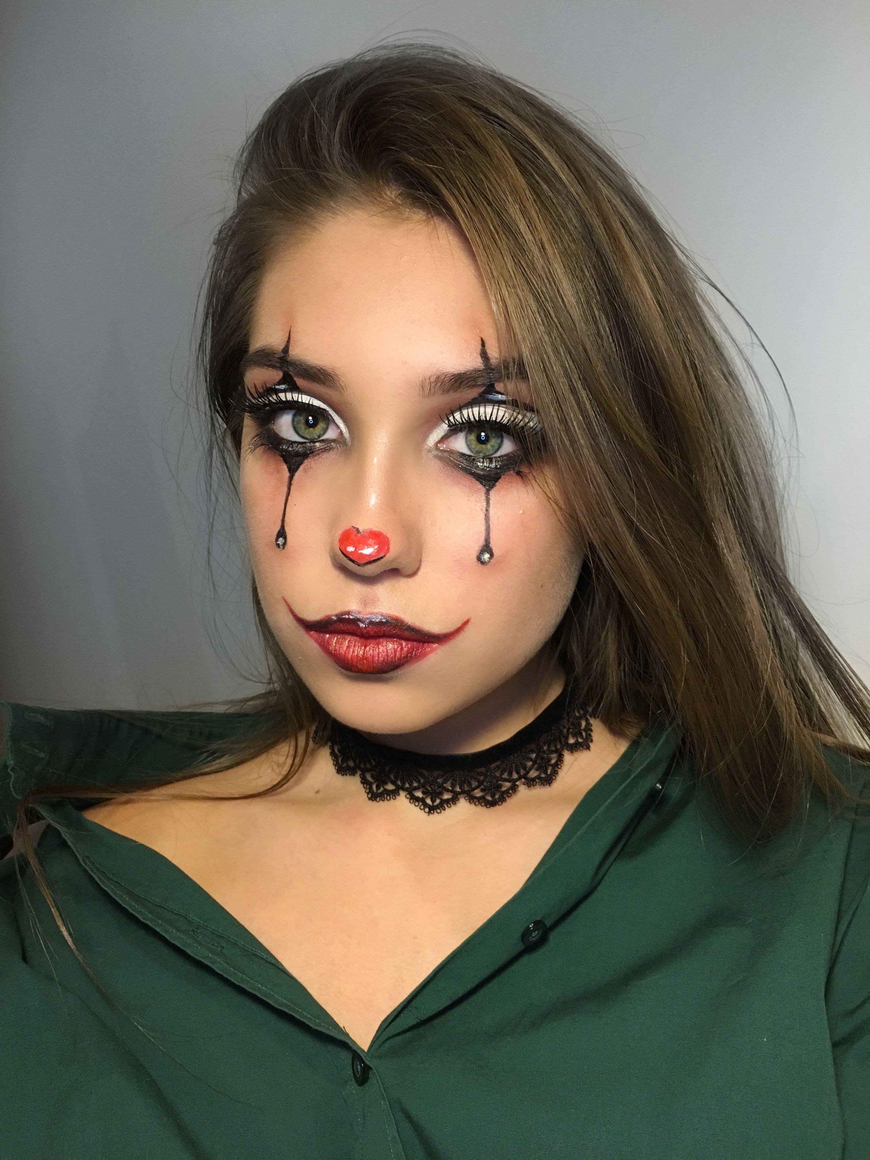 Halloween makeup idea Cute halloween makeup, Halloween