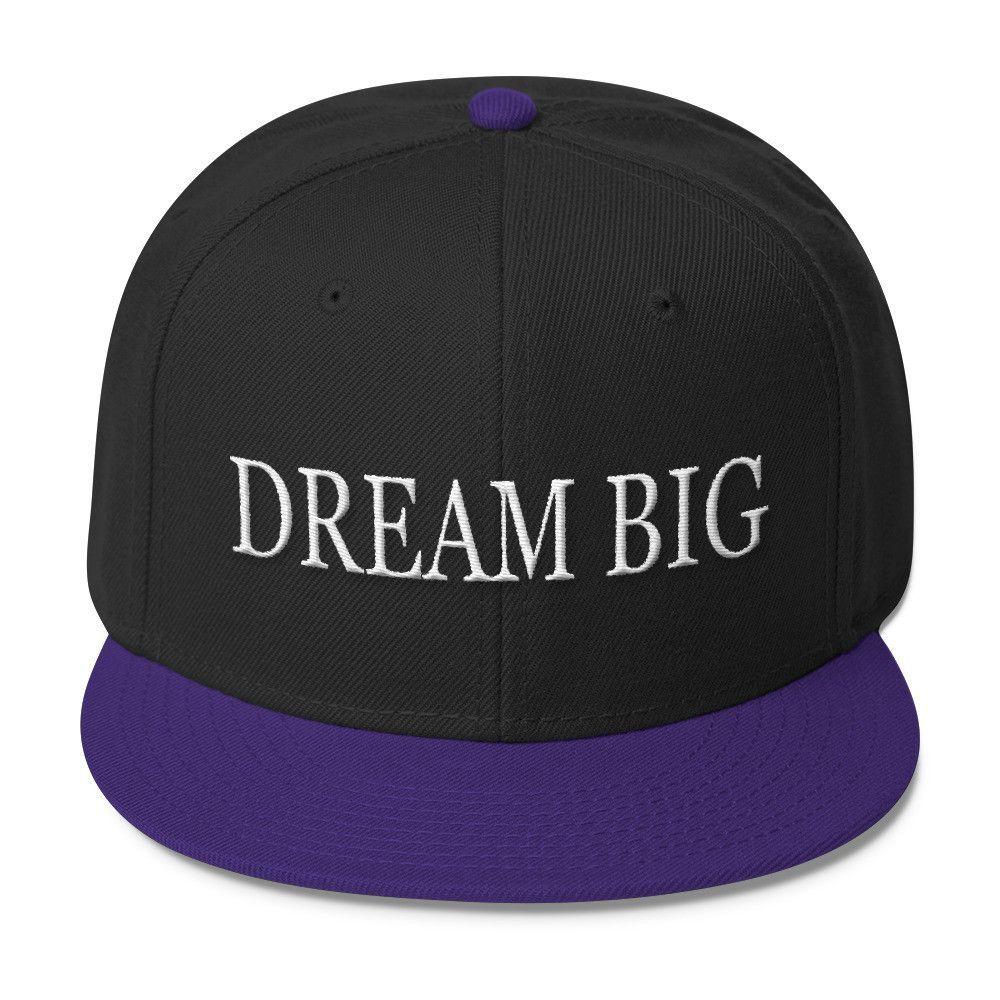 Dream Big Wool Blend Snapback