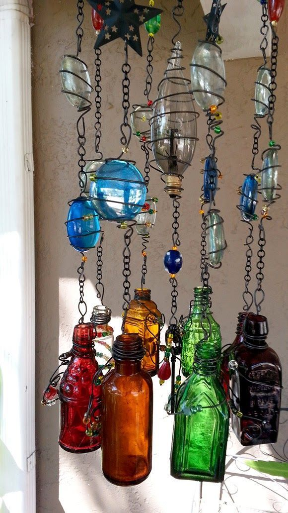 Message in a Bottle WindchimeSuncatcher using small