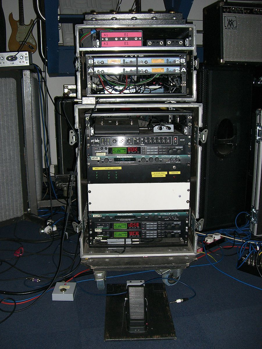 Brian May (Queen) touring rig has been spec\'ed and built gradually ...