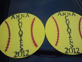 My husband and I make Softball and Baseball Yard Signs for