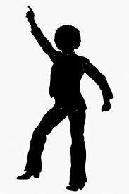 disco man silhouette em 2019